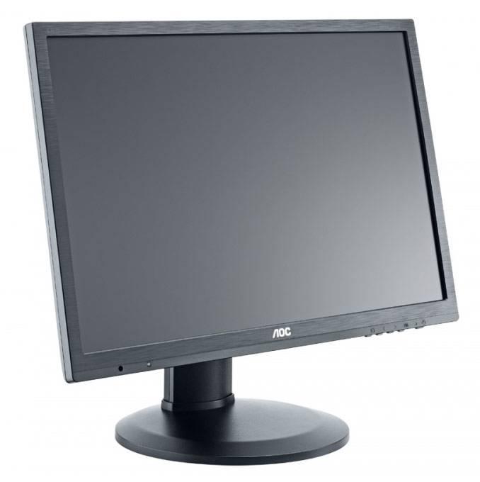 """Монитор 24"""" AOC Professional e2460Pq/bk черный - фото 3"""