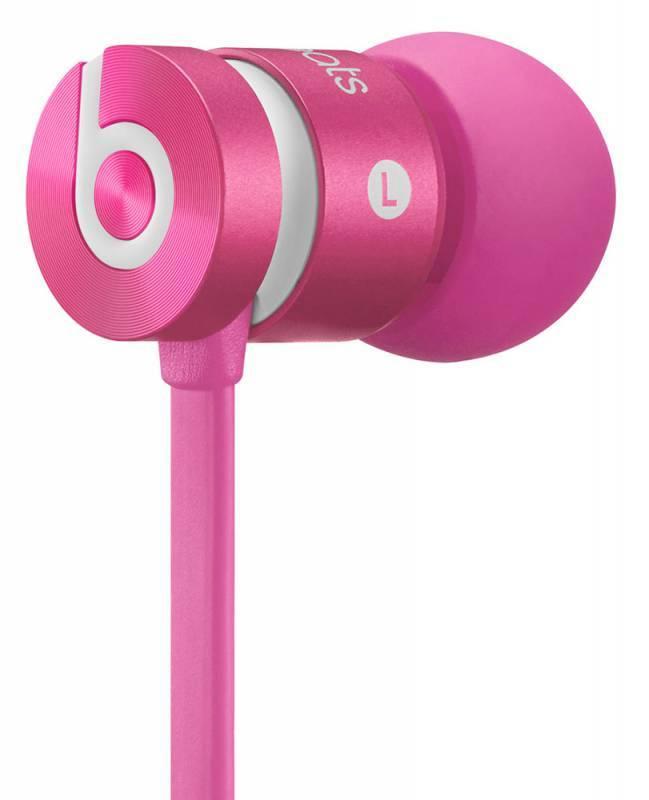 Гарнитура проводная Beats Urbeats 2 CW 1  вкладыши в ушной раковине розовый - фото 3