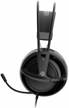 Наушники с микрофоном Steelseries Siberia 200 черный (51133)