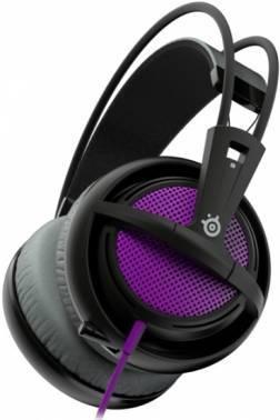 Наушники с микрофоном Steelseries Siberia 200 Sakura Purple пурпурный / черный