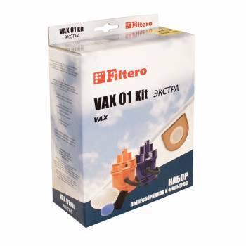 Набор фильтров Filtero VAX 01 Kit экстра