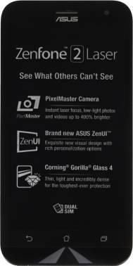 Смартфон Asus ZE500KL ZenFone 2 Laser белый, встроенная память 16Gb, дисплей 5 1280x720, Android 5.0, камера 13Mpix, поддержка 3G, 4G, 2Sim, WiFi, BT, GPS, microSD до 128Gb (90AZ00E2-M01200)