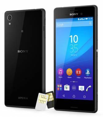 Смартфон Sony Xperia M4 aqua dual E2312 8ГБ черный