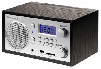 Радиобудильник Rolsen RFM-300 венге