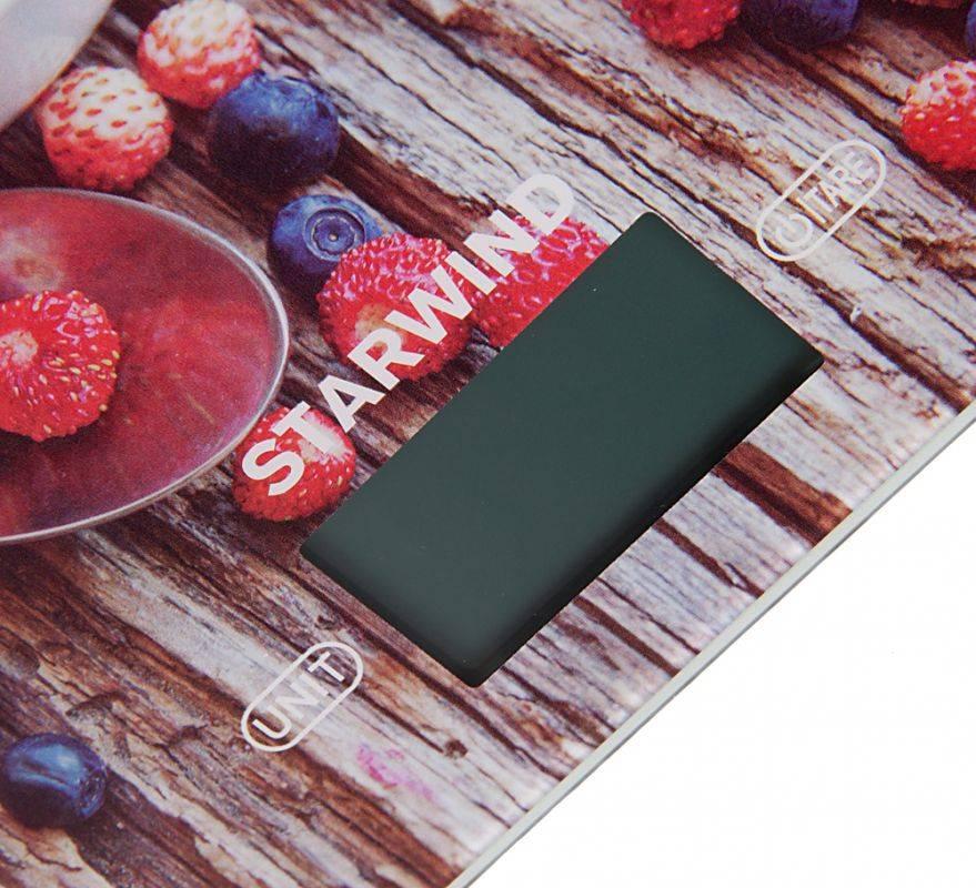 Кухонные весы Starwind SSK3354 - фото 4