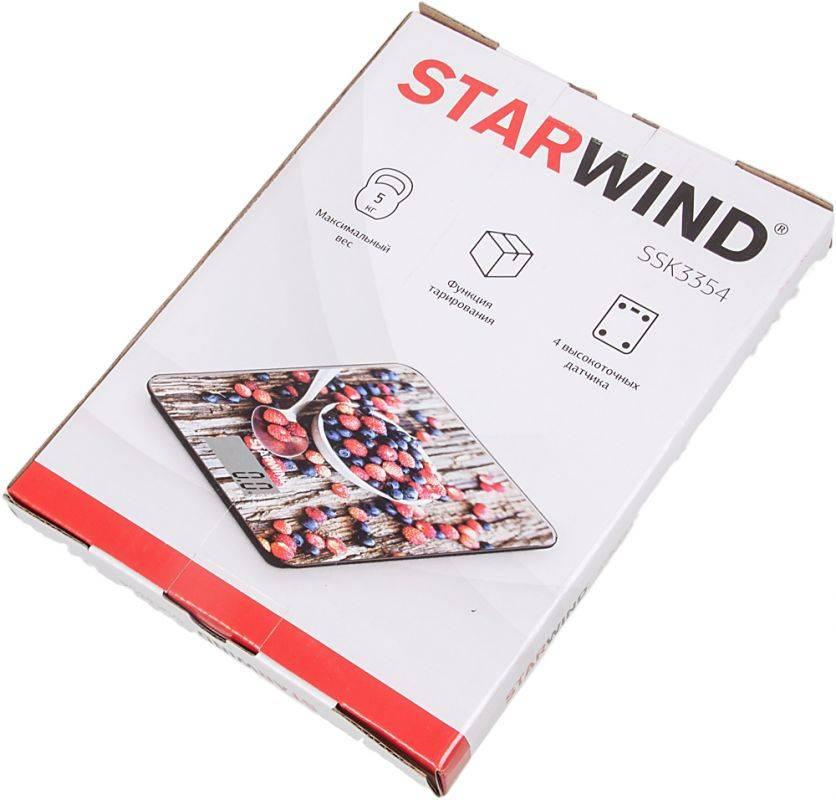 Кухонные весы Starwind SSK3354 - фото 6
