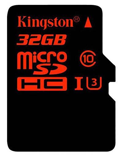Карта памяти microSDHC 32Gb Class10 Kingston SDCA3/32GB - фото 1