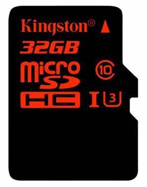 Карта памяти microSDHC 32Gb Class10 Kingston SDCA3 / 32GB