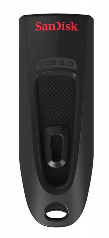 Флеш диск Sandisk Ultra 256ГБ USB3.0 черный - фото 2