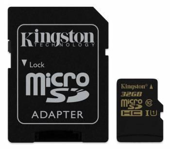 Карта памяти microSDHC 32Gb Class10 Kingston (SDCA10/32GB)
