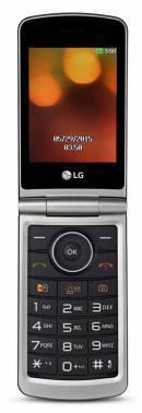 Мобильный телефон LG G360 титан