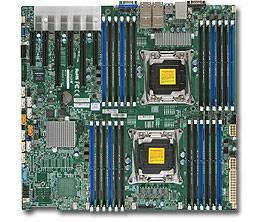 Серверная материнская плата Soc-2011 SuperMicro MBD-X10DRI-T4+-O eATX