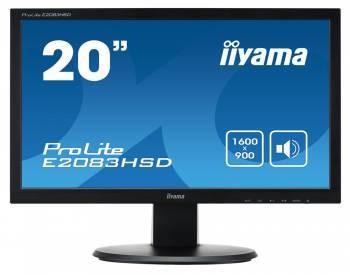 """Монитор 19.5"""" Iiyama E2083HSD-B1 черный"""