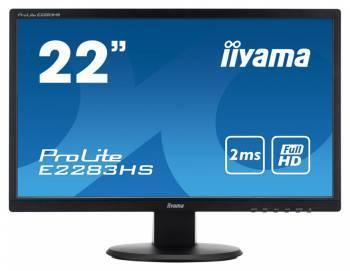 Монитор 21.5 Iiyama E2283HS-B1 черный