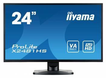 Монитор 23.6 Iiyama X2481HS-B1 черный