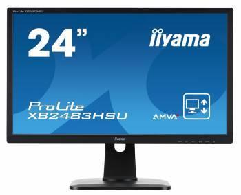 Монитор 24 Iiyama ProLite XB2483HSU-B2 черный