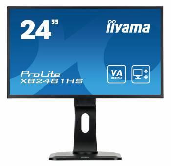 """Монитор 23.6"""" Iiyama ProLite XB2481HS-B1 черный"""