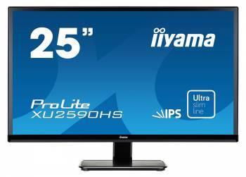 """Монитор 25"""" Iiyama ProLite XU2590HS-B1 черный"""