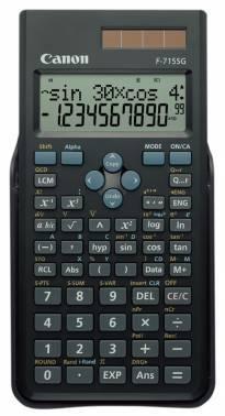 Калькулятор Canon F-715SG-BK черный 10+2-разр.