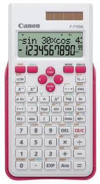 Калькулятор научный Canon F-715SG-WHM белый 10+2-разр.