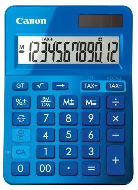 Калькулятор Canon LS-123K-MBL синий 12-разр.