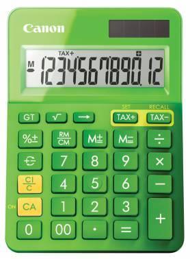 Калькулятор Canon LS-123K-MGR зеленый 12-разр.