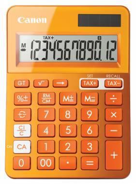 Калькулятор Canon LS-123K-MOR оранжевый 12-разр.