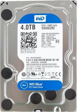 Жесткий диск 4Tb WD Blue WD40EZRZ SATA-III