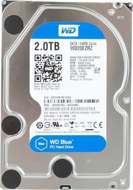 Жесткий диск 2Tb WD Blue WD20EZRZ SATA-III