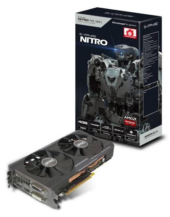 Видеокарта Sapphire NITRO R9 380 4G D5 4096 МБ (11242-07-20G) - фото 4
