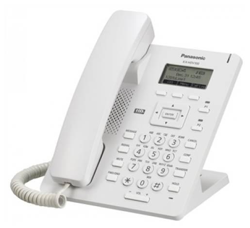Телефон SIP Panasonic KX-HDV100RU белый - фото 1