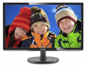 "Монитор 20.7"" Philips 216V6LSB2 (10/62) черный"