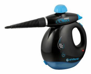 Пароочиститель ручной Endever Q-409 черный/синий (60088)