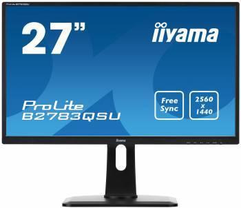 Монитор 27 Iiyama B2783QSU-B1 черный