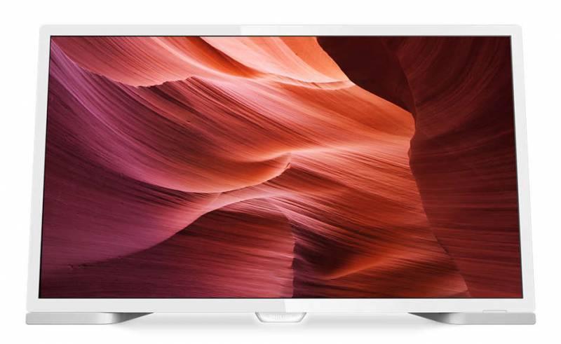 """Телевизор LED 24"""" Philips 24PHT5210/60 белый - фото 1"""
