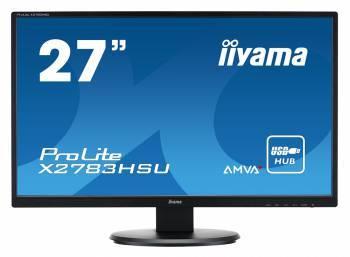 Монитор 27 Iiyama X2783HSU-B1 черный