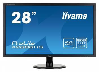 """Монитор 28"""" Iiyama ProLite X2888HS-B2 черный"""