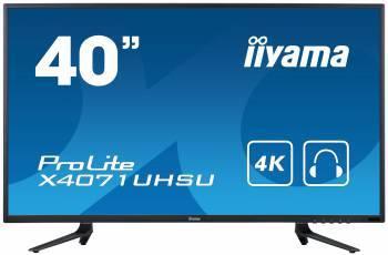 """Монитор 39.5"""" Iiyama ProLite X4071UHSU-B1 A черный"""