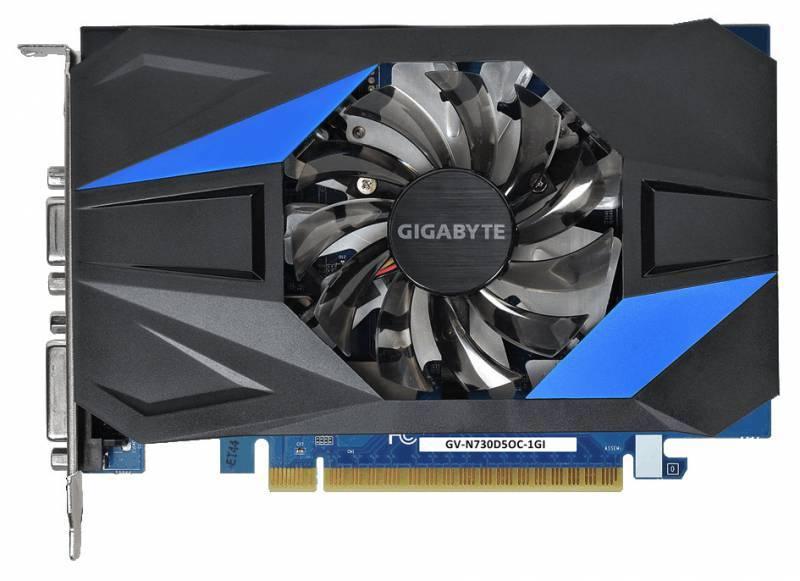 Видеокарта Gigabyte GeForce GT 730 1024 МБ (GV-N730D5OC-1GI) - фото 2