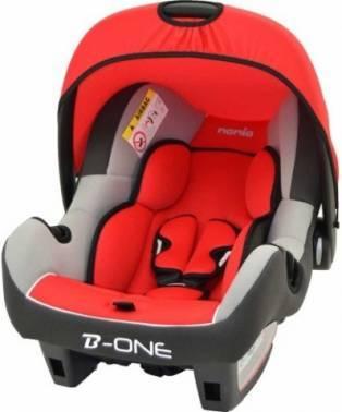 Автокресло детское Nania Beone SP LX (agora carmin) красный / серый