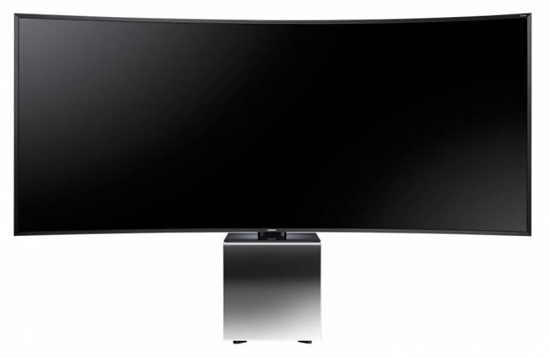 "Телевизор LED 82"" Samsung UE82S9WATXRU серебристый - фото 1"