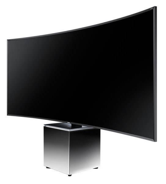 "Телевизор LED 82"" Samsung UE82S9WATXRU серебристый - фото 4"