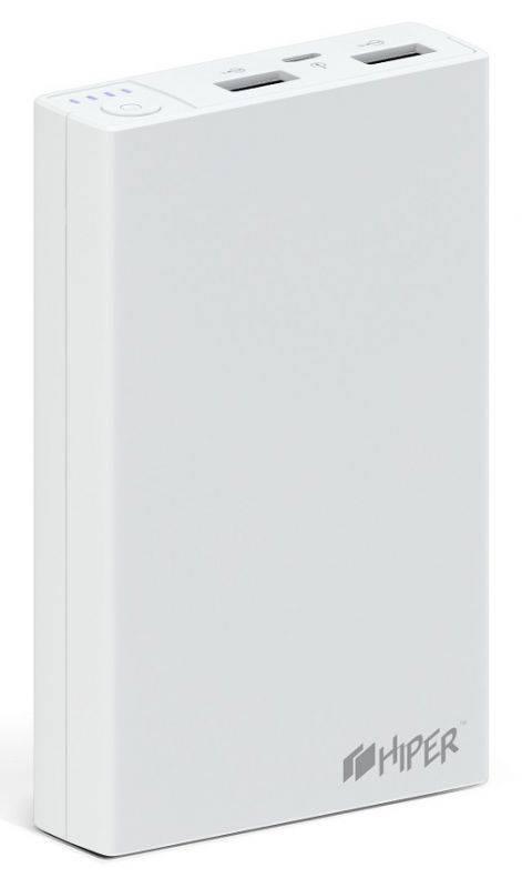 Мобильный аккумулятор HIPER RP12500 белый (RP12500 WHITE) - фото 2