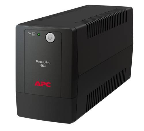 ИБП APC Back-UPS Pro BX650LI-GR черный - фото 1