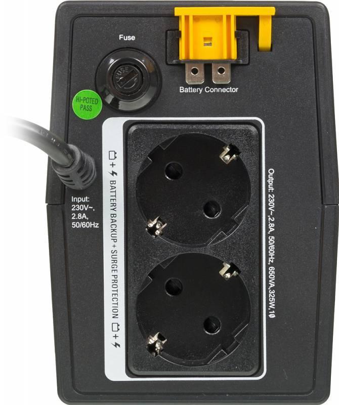 ИБП APC Back-UPS Pro BX650LI-GR черный - фото 2