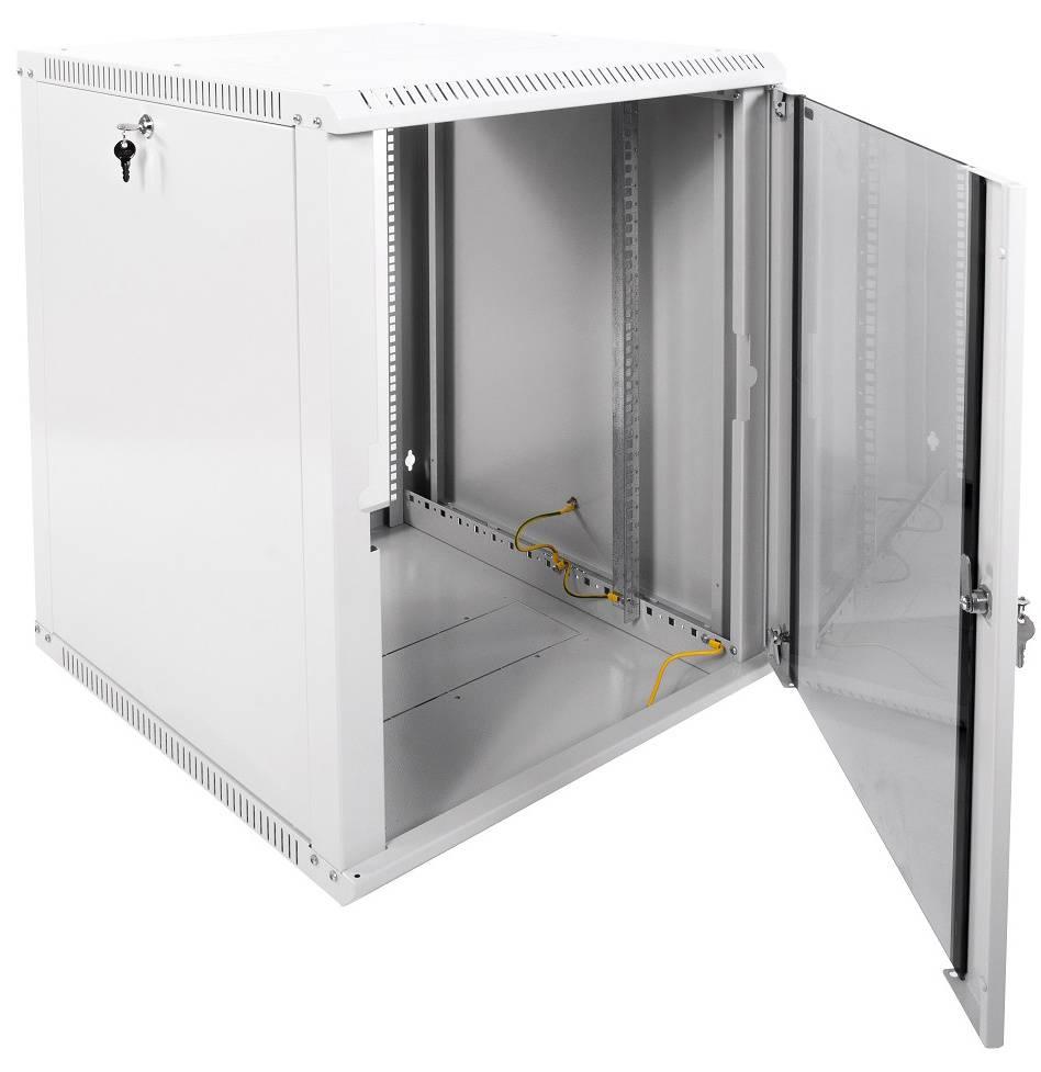 Шкаф коммутационный ЦМО ШРН-Э-15.650 15U серый - фото 2