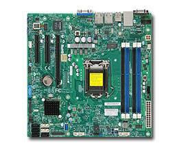 Серверная материнская плата Soc-1150 SuperMicro MBD-X10SLL-F-O mATX Ret