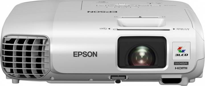 Проектор Epson EB-W29 черный - фото 1