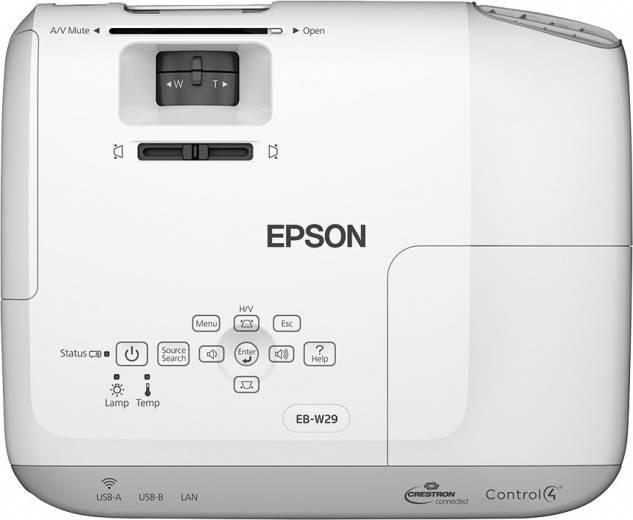 Проектор Epson EB-W29 черный - фото 5