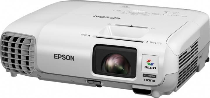 Проектор Epson EB-W29 черный - фото 6